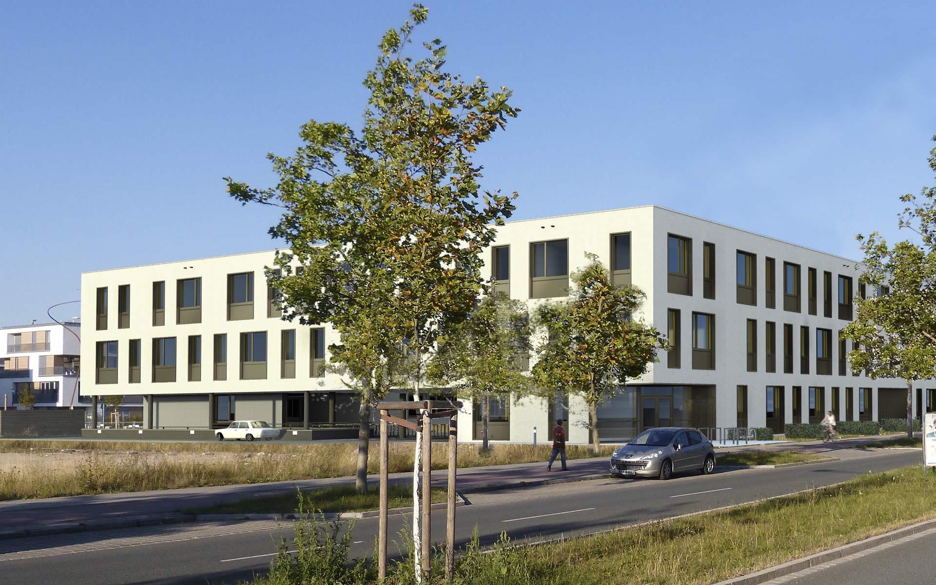 Atrium Röthelheimpark – Büro- und Schulgebäude